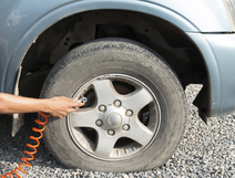 Why fill car tyres with nitrogen Gas