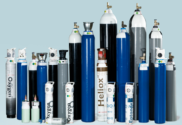 BOC medical gas cylinders