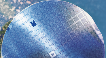 Silicon wafer chip
