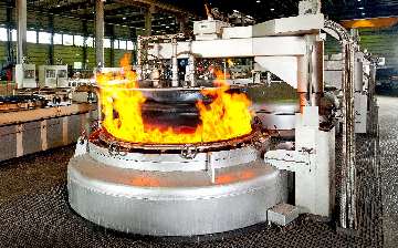 Pit furnaces at Hanomag Heat treatment Center, Hannover