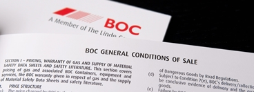 BOC General Conditions of Sale Booklet