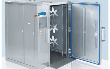 A CRYOLINE CF cryogenic food cabinet freezer from BOC
